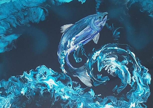 Swimin' The Kenai