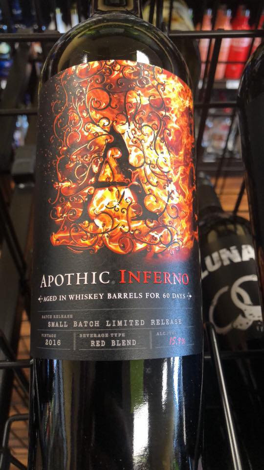 Apothic Inferno Limited Release Red Blend