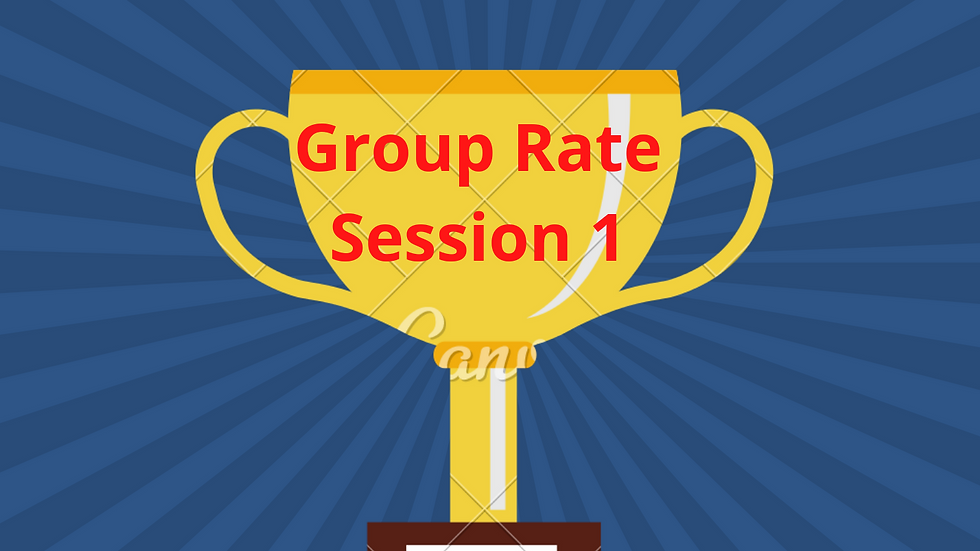 Group Rate - Session 1