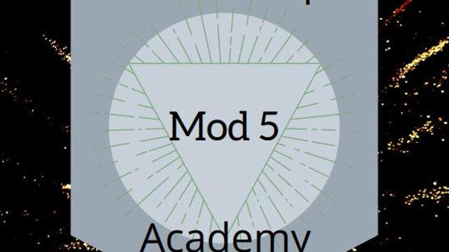 Module 5 work - Listening Module