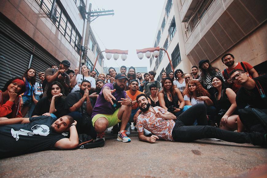 Canva - Cheerful multiethnic students ha