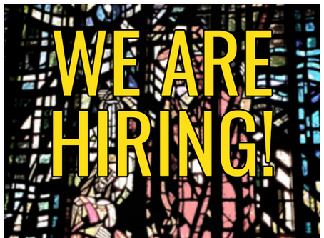 Our Parishes are Hiring!