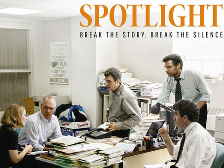 "Sexual Abuse, Catholic Priests, and the Film, ""Spotlight"""