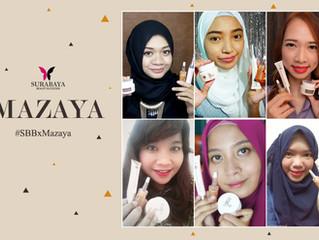 Kolaborasi Surabaya Beauty Blogger dan Mazaya Kosmetik