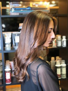 Carmel Balayage   Cut