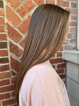 Honey Balayage | Cut