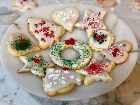 Christmas cookie baking is good for your spirit...
