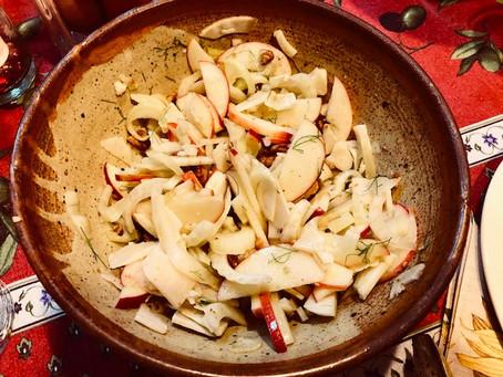 Harvest Fennel Apple Salad