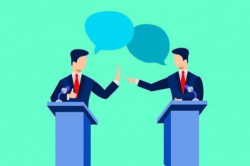 【Course ID:DS203-01】Debate-Middle School(Advanced)——Lecturer: Ken Newberg