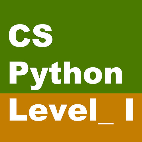 【Course ID:CS 201-01】CS-Python Level I (Grade:5-7)——Lecturer: Mr.Jay