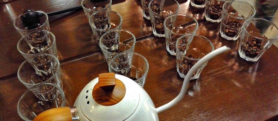 Cata de café en 'Tinta y Café' de Multiplaza