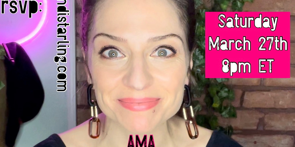 AMA Chat Party LIVE with Wendi Starling