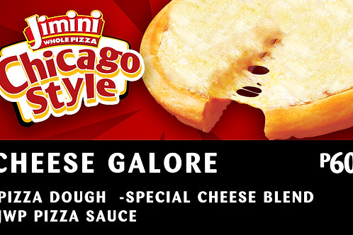 Chicago Style Whole Pizza    Cheese Galore