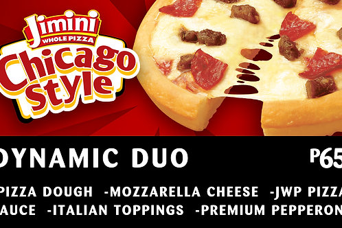 Chicago Style Whole Pizza      Dynamic Duo
