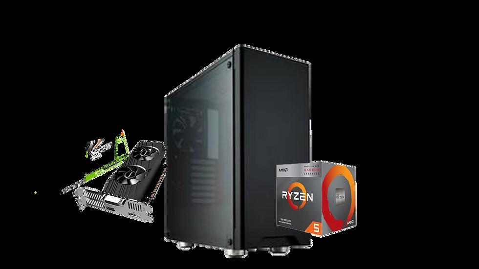 PC Gamer Carbide Suave - Ryzen 3400G / GTX 1650 OC / 16GB de RAM