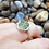 Thumbnail: Green Sea Glass Wire Wrapped Ring