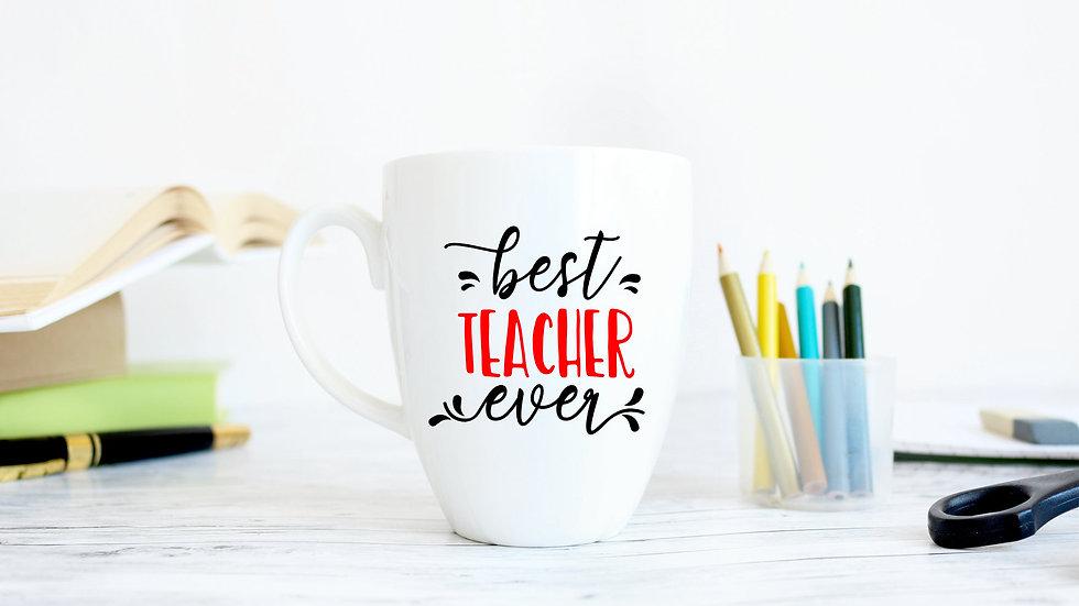 Teacher Gift Vinyl Mugs