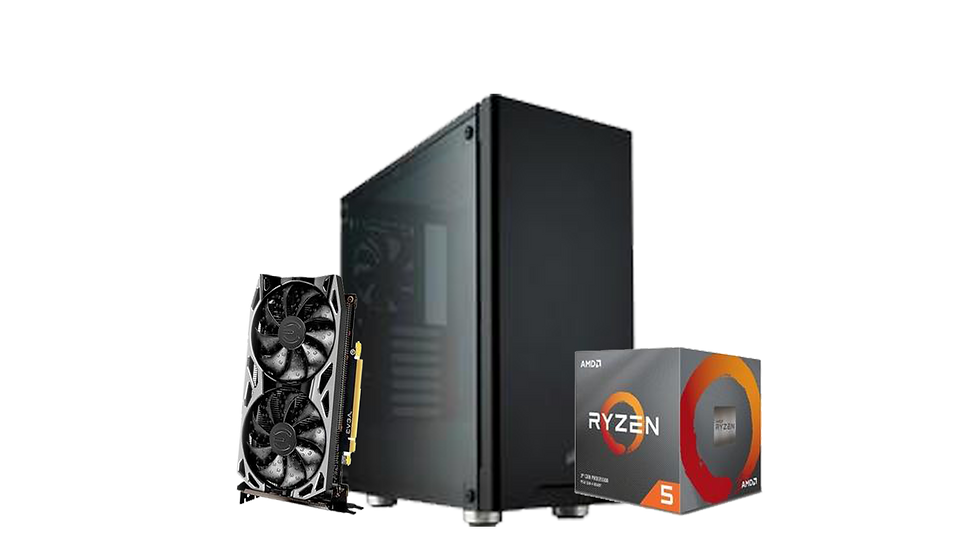 PC Garbide Monstrão - Ryzen 5 3600X / GTX 1660 SUPER / 16GB de RAM