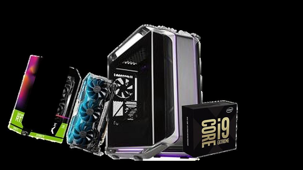 PC Gamer Neverland - I9 9980XE / RTX 2080 TI / 128GB de RAM
