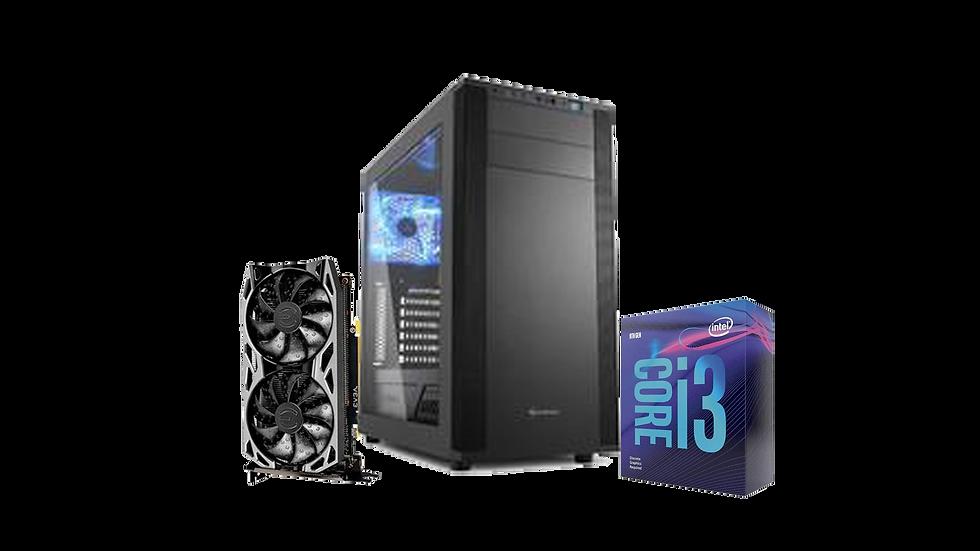 PC Gamer STONKS - GEFORCE GTX1660 6GB / INTEL CORE I3 9100F / 8GB DDR4 /