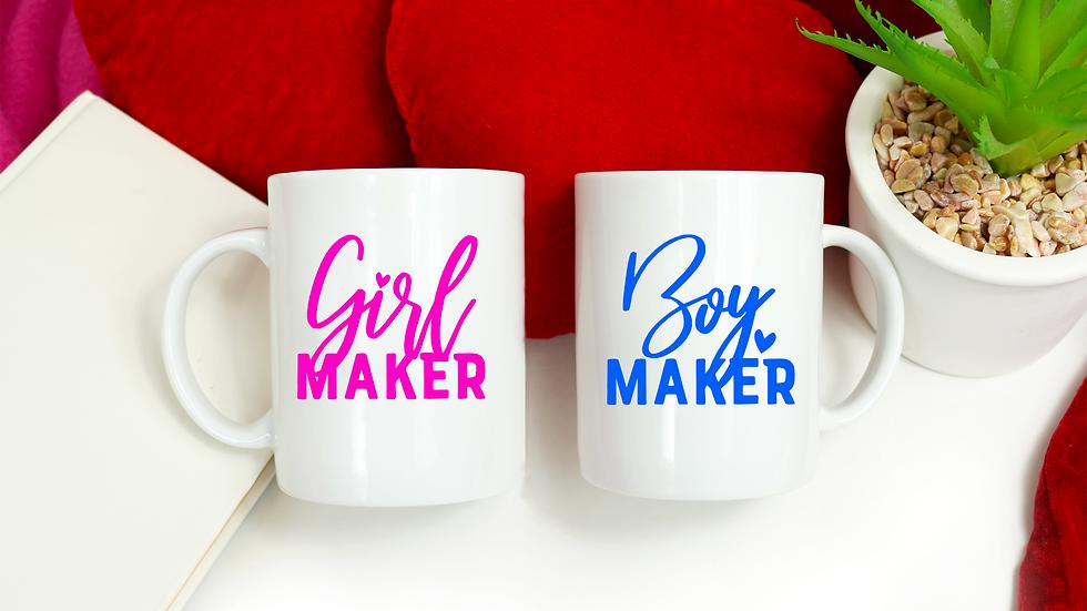 Boy/Girl/Twin Maker Vinyl Mugs