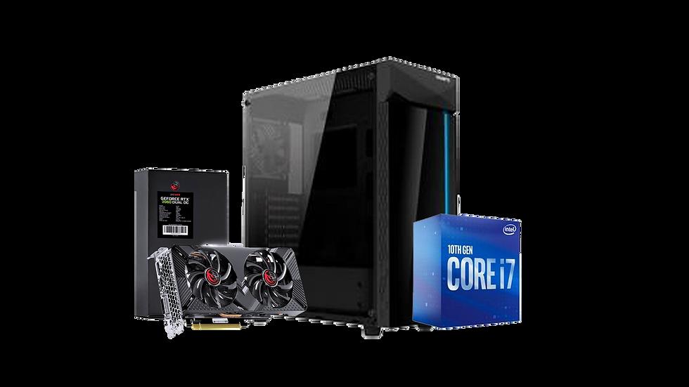 PC Gamer little X - i7 10700 / RTX  2060 / 16gb de RAM