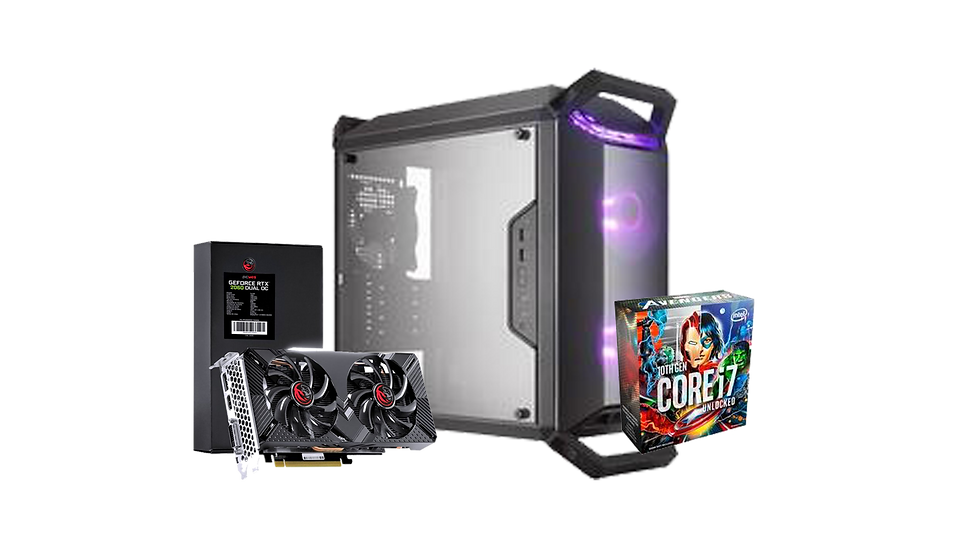 PC Gamer Marvel Limited Edition -i7 10700K Marvel / RTX 2060 / 8gb de RAM