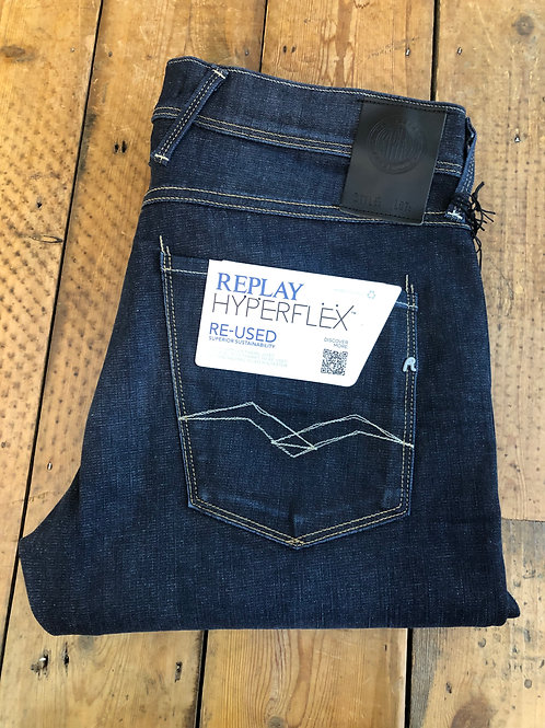 Replay Hyperflex jeans Re-used Raw wash Anbass