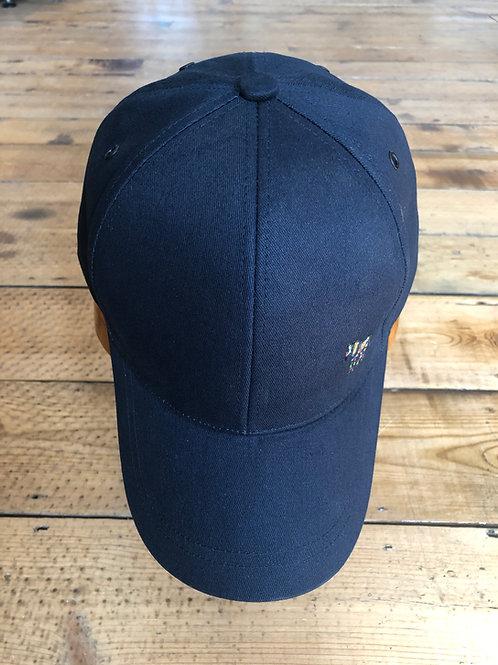 Navy blue Paul Smith zebra baseball cap
