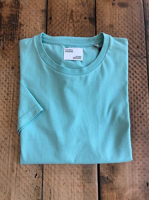 Colorful Standard classic organic cotton T-shirt faded mint