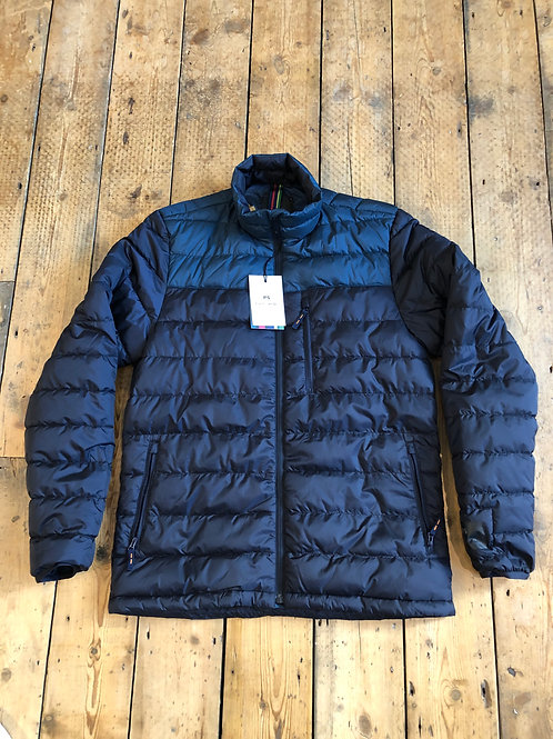 Paul Smith Recycled polyester quilted jacket in navy