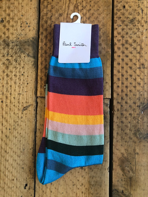 Paul Smith socks artist stripe