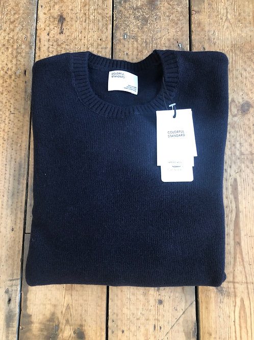 Colorful Standard Merino wool pullover in Navy Blue