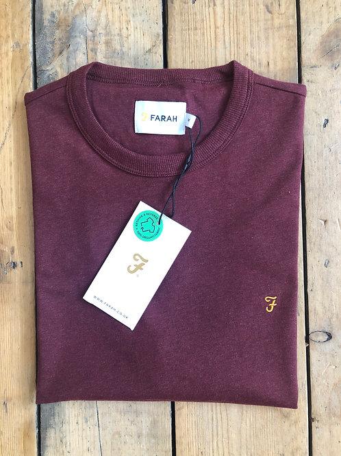 Farah T-Shirt in Red Marl