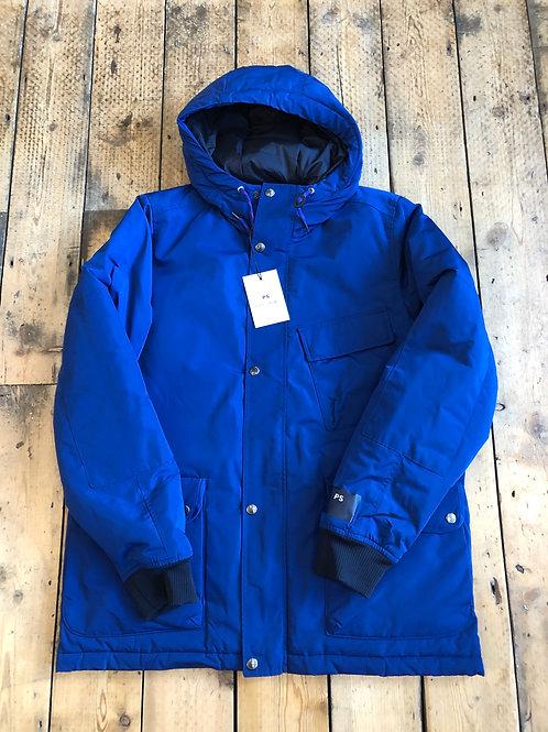 Paul Smith hooded jacket in cobalt