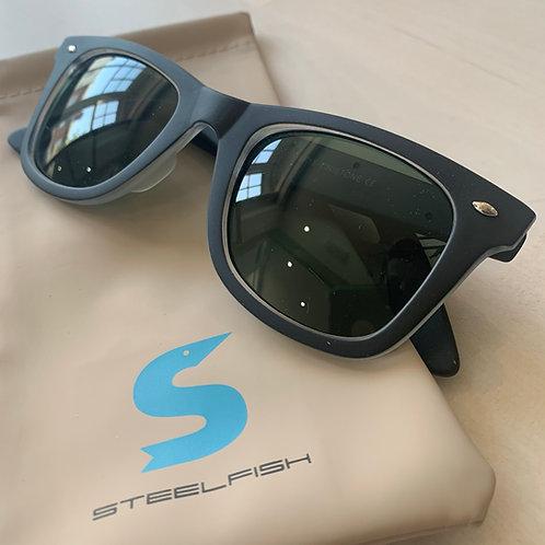 Steelfish 'Tinietone' sunglasses in Slate/Clear
