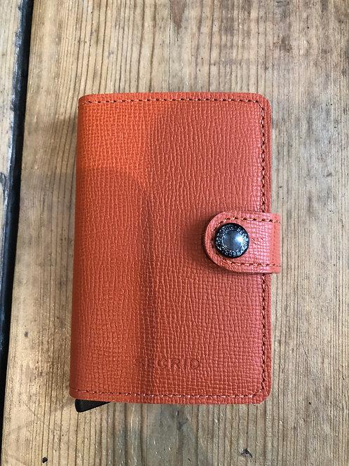 Secrid Miniwallet in Crisple Orange