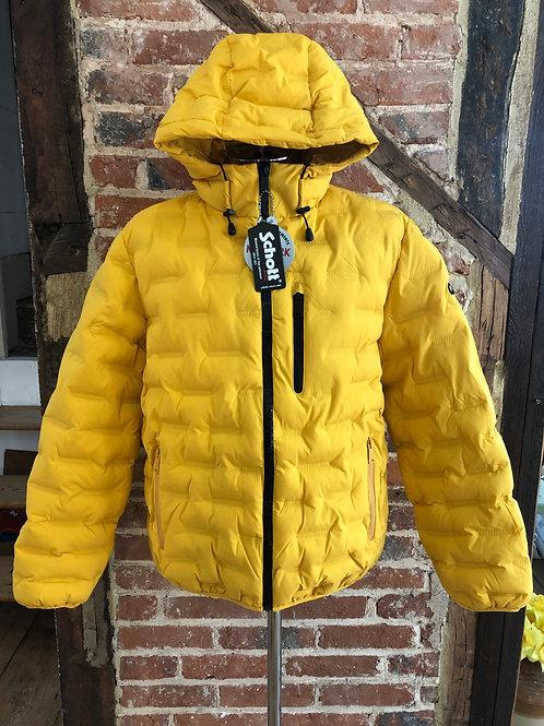 Schott 'Cruiser 19' puffa jacket in Gold