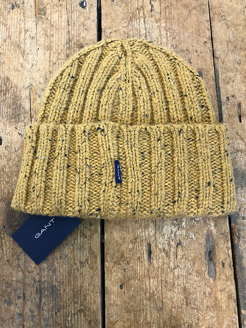 Gant honey gold neps beanie