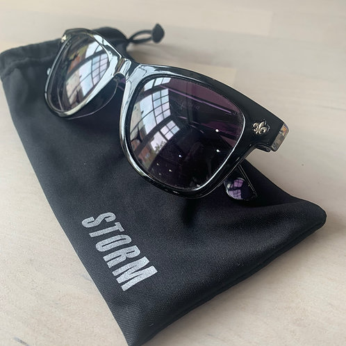 Storm 'Carius' sunglasses in Black/Clear