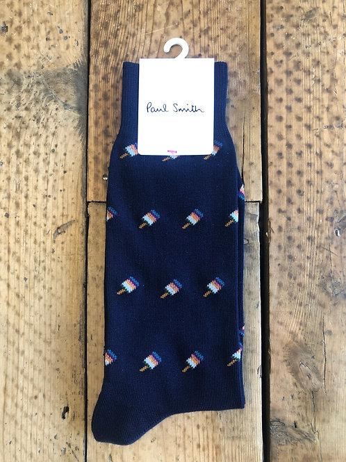 Paul Smith socks artist lolly