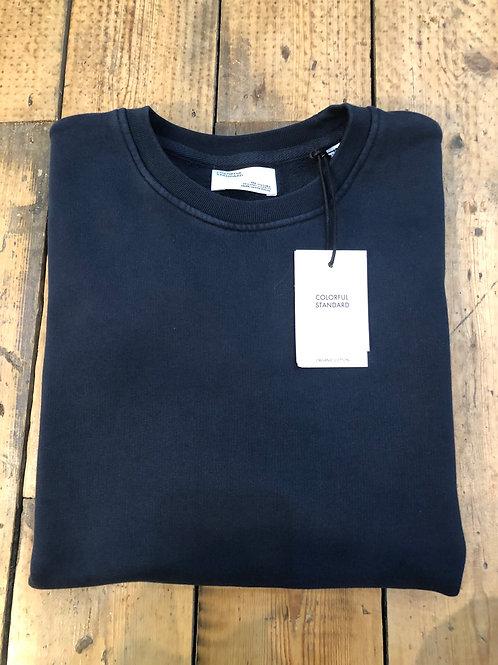 Colorful Standard organic cotton sweatshirt in Navy