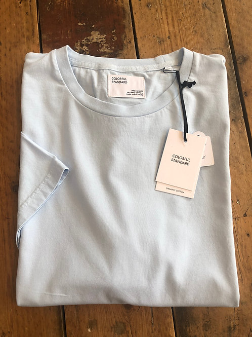 Colorful Standard classic organic cotton T-shirt in Polar Blue