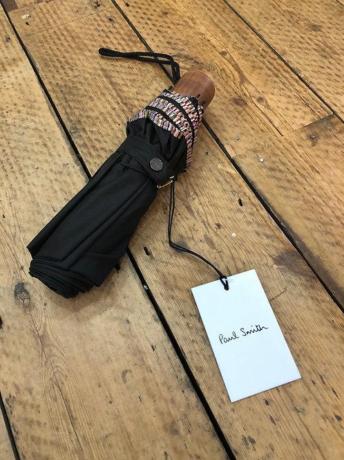 Paul Smith Signature stripe trim Micro umbrella