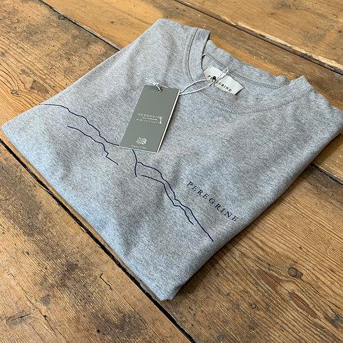 Peregrine 'Mountain' T-shirt in Grey