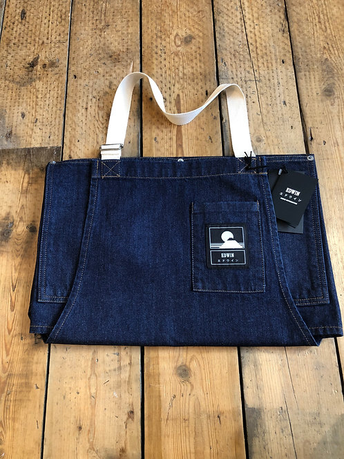Edwin 'Louie' Dark Denim Apron