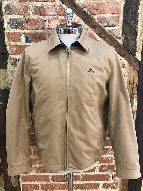 GANT Windcheater jacket in Warm Khaki
