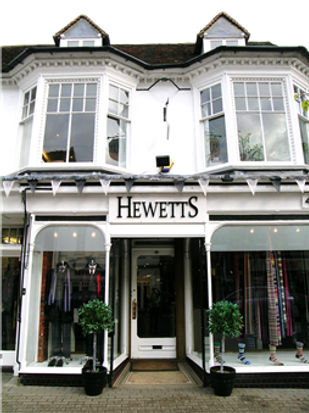 Hewetts of Marlow socks and scarf