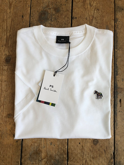 Paul Smith Zebra Logo T-shirt in White
