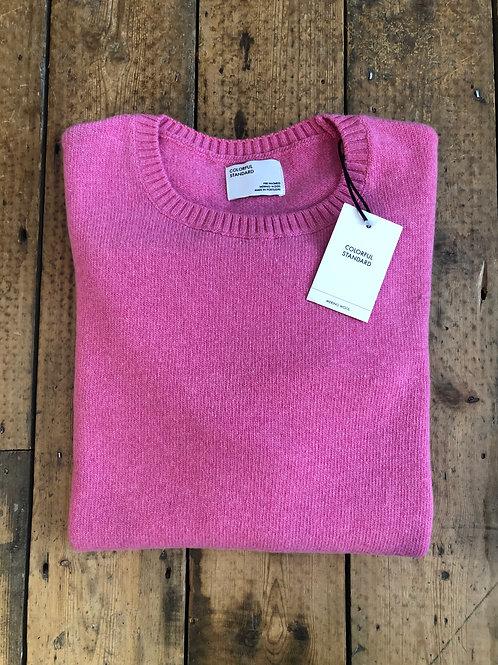 Colorful Standard Merino wool pullover in Bubblegum Pink